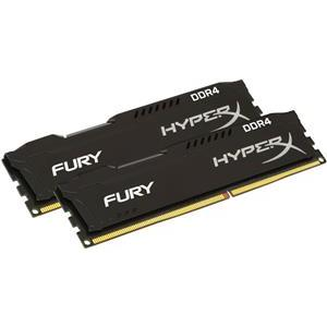 Memorija Kingston 16 GB DDR4 2133MHz HyperX Fury Black (2x8GB kit), HX421C14FB2K2/16