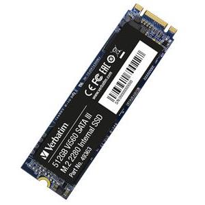 SSD 512 GB VERBATIM, Vi560 S3, SATA 3, M.2, 2280, do 560/520 MB/s