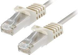 Transmedia CAT6a PIMF Patch Cable 1m white