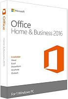 Software Microsoft Office RETAIL Home and Business 2016 English Medialess, T5D-02374/T5D-02826