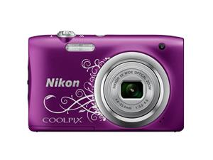 Digitalni fotoaparat Nikon Coolpix A100 Purple Lineart
