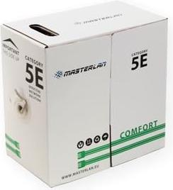 Masterlan UTP wire cable Cat5e, PVC, 24AWG, 305m, CU