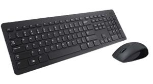 Dell Keyboard and Mouse Wireless KM636, Black, UK (QWERTY), HR press