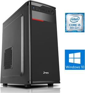 Stolno računalo ProPC i506W Office || Intel Core i5-8400 2.80 GHz, 8 GB DDR4, 240 GB SDD, Intel® UHD Graphics 630, Midi Tower, Windows 10 Pro ||