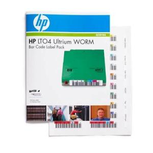 SUP DAT LTO HP LTO-4 WORM BAR CODE LABEL PACK Q2010A