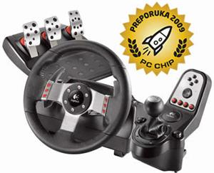 Logitech G27 Racing Wheel + PSX3