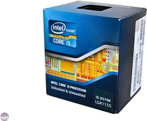 Procesor INTEL Core i5 3570K BOX, s. 1155, 3.4GHz, 6MB cache, GPU, QuadCore