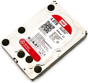 "HDD Interni WD Red NAS 3.5"" 4 TB, IntelliPower, WD40EFRX"