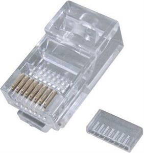 EuroLan conector UTP RJ45 Cat6 shielded, LY-US012-2